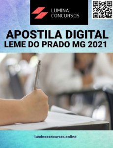 Apostila PREFEITURA DE LEME DO PRADO MG 2021 Recepcionista