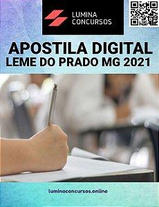 Apostila PREFEITURA DE LEME DO PRADO MG 2021 Nutricionista