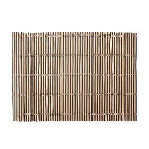 Kit 6 peças Jogo Americano em Bambu Listras - 45cm x 30cm