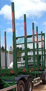 Fueiro ExTe B2/170mm Conjunto - altura útil 2,80m - área de carga 6,62m² - 09 toneladas