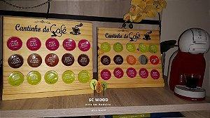 Suporte para Cápsulas de Café - 15 unidades