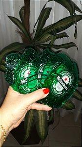 Jogo de Porta Copos em Resina - Mod. Heineken (05 Unidades)