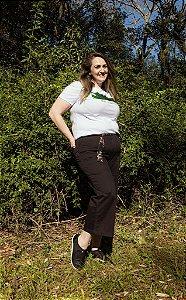 Pantacourt Feminina Hoje Collection All Curves