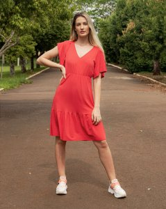Vestido Feminino Hoje Collection Vermelho