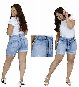 Shorts Jeans Feminino Hoje Collection