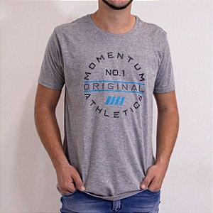 Camiseta Masculina Manga Curta Cor Mescla