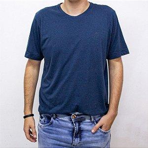 Camiseta Masculina Manga Curta Cor Lisa