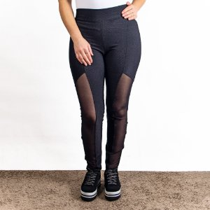 Calça Feminina Legging Preta Estratosfera