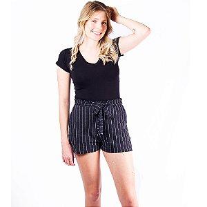 Shorts Malha Listrado Babicat