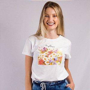 T-Shirt Algodão Feminina