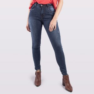 Calça Cigarrete Jeans Feminina Hoje Collection