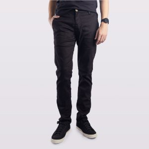 Calça Jeans Alfaiataria Preta Masculina Indulto