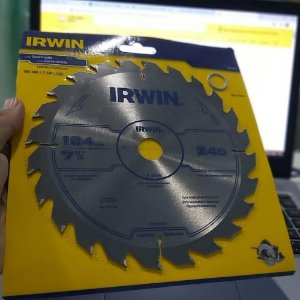 Disco Serra Circular Basico 184x24x20 - Irwin