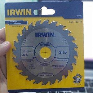 Disco Serra Circular Basico 10x24x20 - Irwin