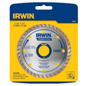 Disco Diamante Turbo 10x20mm IRWIN