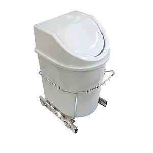 Lixeira Deslizante - 12l - 270x370x250mm - 8717 Jomer