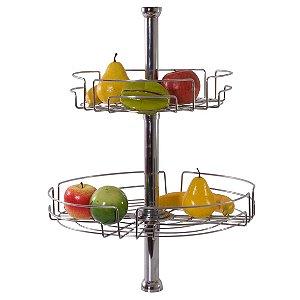 Fruteira Giratória Soft Completa - Aço Cromado 8525 - Jomer