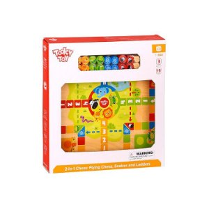 2 IN 1 GAME: LUDO, SNAKES AND LADDERS