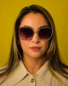 Óculos Solar Proteção UVA e UVB 400 Premium - REF: HT1235