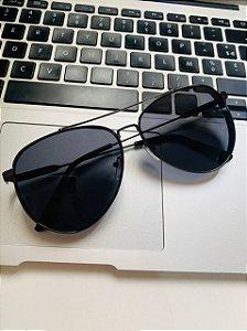 Óculos Solar Aviador Proteção UVA e UVB 400 Premium - REF: HT0993