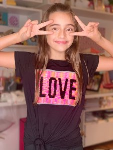 T-Shirt nozinho LOVE