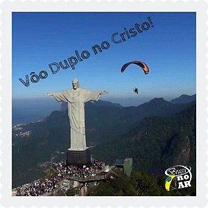 """Vôo Duplo com Cadeirante no """"Cristo"""" Rio de Janeiro"""