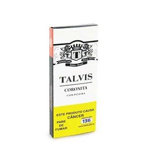 Cigarrilha Talvis Coronita Tradicional com Piteira cx c/5