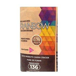 Fumo para cigarro Rainbow Golden Brown (Orgânico)