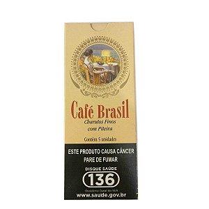 Cigarrilha Café Brasil cx c/5