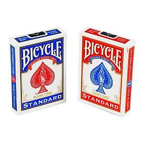 Baralho Bicycle Standard Azul ou Vermelho