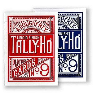 Baralho Tally-Ho Standard Azul / Vermelhor