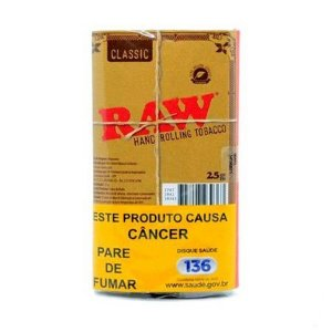 Fumo Para Cigarro Raw 25g