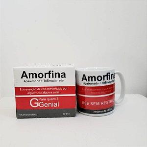 Caneca Porcelana Amorfina 300ml