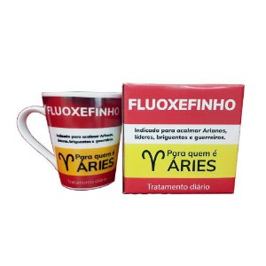 Caneca Porcelana Áries 290ml