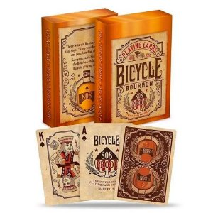Baralho Bicycle Bourbon - PREMIUM Deck
