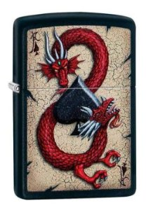 Isqueiro Zippo Dragon Ace Design Ref. 29840
