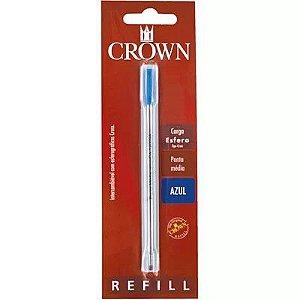 Carga p/ Caneta esferográfica Crown Cross azul  Ref.CA12009A