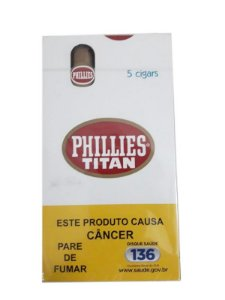 Charuto Phillies Titan Original cx c/5