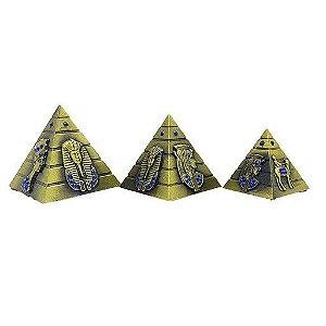 Pirâmides Jogo c/ 3