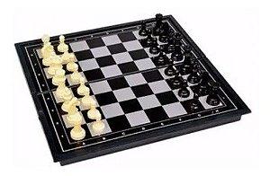 Xadrez com Tabuleiro Tipo Estojo com Ímã