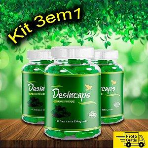 KIT 3in1 - Desincaps 3 frascos para 3 meses – FRETE GRÁTIS