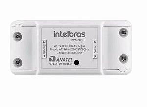 Interruptor controlador Inteligente Wi-Fi EWS 201 Intelbras