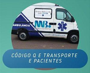 Código Q e Transporte de Pacientes