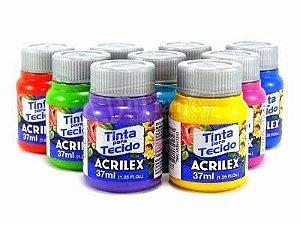 Tinta Acrilex para tecido 37ml