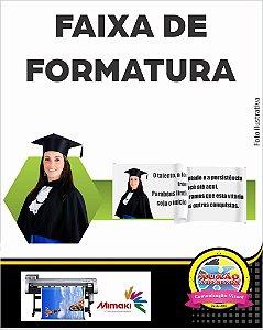 FAIXA 200x70 CM Em Lona Editável - FORMATURA