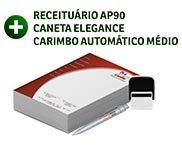 COMBOS DE PRODUTOS RECEITUÁRIO, CARIMBO E CANETA - 4X4