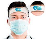 Máscaras De Prevenção Personalizada Protetor Facial Face Shield