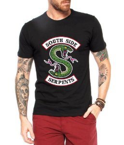 Camiseta Seriado Riverdale South Side Serpentes Masculina