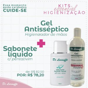 Sabonete liquido+GelAntisseptico