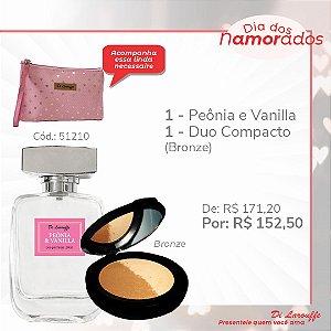 Perfume Peonia & Vanilla e Po Duo comp. Rosado